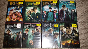 All 8 Harry Potter DVDs complete collection for $10 NEW SEALED