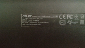 Asus notebook x200M