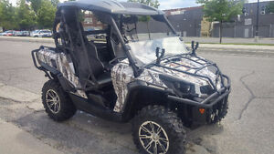 One of a Kind can am commander ltd edition with winter camo