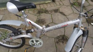 Pair of youth bicycles