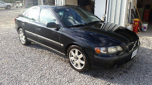 2002 Volvo S60 T5 Manual LOW KM