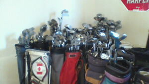 Sets of Clubs n Bag (many to choose) $25  WOW !