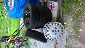 Winter Tires and Rim for sale