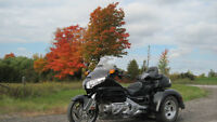 Awesome Black GoldWing Trike For sale