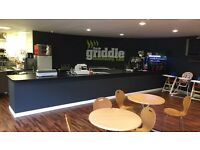 The griddle community cafe forge Fach Clydach