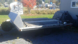 double wide snowmobile trailer SOLD  PPU