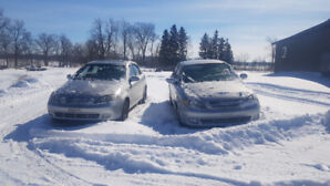 PAIR of 2006 Chev Optra 5