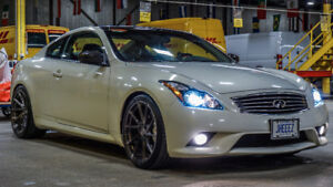 2012 INFINITI G37XS COUPE - LOW KM - CLEAN - MODDED