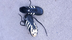 Adidas cleats size 1