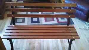 Two Brand New Assembled Park/Garden Benches