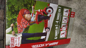 Radio Flyer Deluxe 4-in-1 Trike - Red