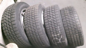 4 winter tiers with rims for honda civic 2008 to 2011