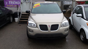 2008 pontiac montana sv6 safety  included
