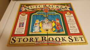 Nutcracker Story Book Set Advent Calendar - Brand New