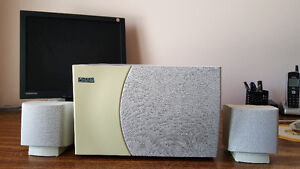 Altec Lansing ACS 45.1 speakers with sub woofer