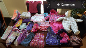 Infant Girl 6-12 month clothes