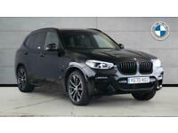 2020 BMW X3 SERIES X3 xDrive20d M Sport SUV Diesel Hybrid Automatic