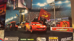 Lightening McQueen table and 2 stools