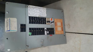 100aMP BREAKER PANEL COMPLETE WITH ALL BREAKERS