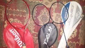 Tennis / Badminton Rackets