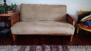 Beautiful all wooden futon