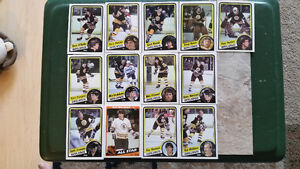Topps NHL 84-85 cards Team sets