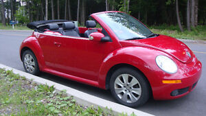 2009 Volkswagen New Beetle convertible-cabriolet- Comfortline