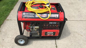KING 9000W Generator - LIKE NEW