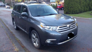 2013 Toyota Highlander AWD Loaded Leather 7 Pass 100k 4WD
