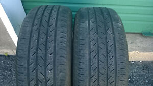 Selling 2X 215 60 16 Continental  All-Season Tires