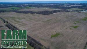 Large Acreage of Productive Farmland by Lake Erie