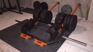 Hex trap barbell multi-purpose - Super VIKING press  West Island Greater Montréal image 4