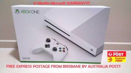 LOCAL  PICK UP Xbox One S 500GB Brand New  + games (optional)
