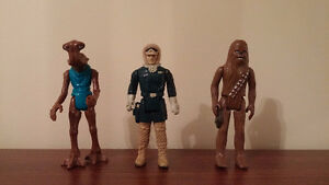 Vintage 1977 kenner Star Wars figurines