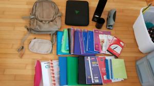 Lots School supplies