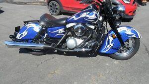 Moto Kawasaki Drifter 1500 (non négociable)