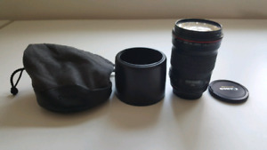 Canon EF 135mm f/2L USM Lens with B+W UV filter