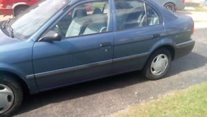 Toyota Tercel 1998 for $1700 Certified