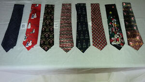 100% silk Men's neckties