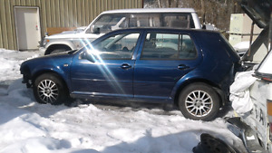 2003 TDI golf parts car