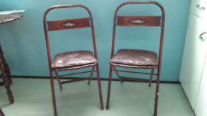 Vintage  Simmons  Metal Chairs