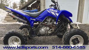 Yamaha Raptor 700 2002 avec beaucoup d'extras!