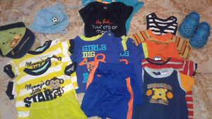 Baby boy summer clothes 0-3 months