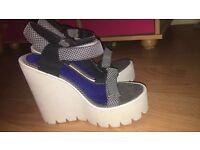 Jeffrey Campbell platform shoes