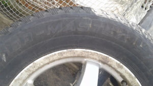 Winter Tires 235/65R16 and Alloy rims