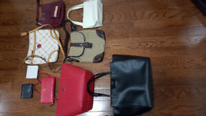 Gently used designer bags and wallets