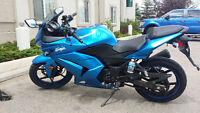 excellent beginner starter bike motorcycle