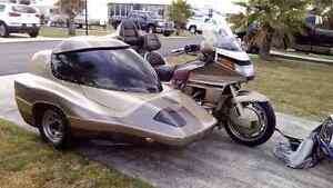 1989 1500 goldwing and sidecar