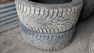Pair of 2 Rovelo RWT768 225/45R17 WINTER tires (70% tread life)