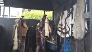 Horse Tack and Trailer